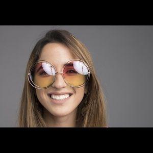 Accessories - Multicolor round sunglasses